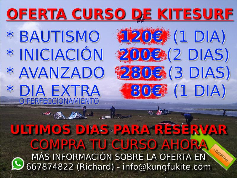 oferta curso kitesurf